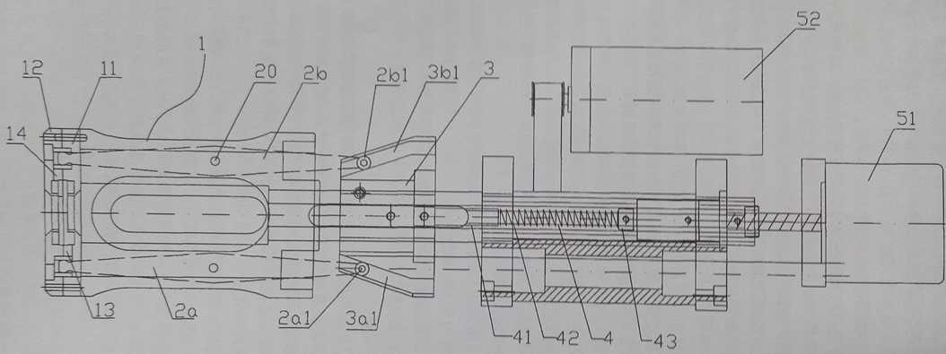 电脑剥线机刀架工作原理的结构图